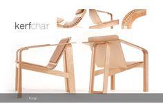 Kerf Bending Wood design - Cerca con Google