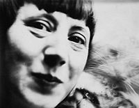 Hannah Höch (1889 – 1978) was a German Dada artist. She is best known for her work of the Weimar period, when she was one of the originators of photomontage. Hannah Höch was born Anna Therese Johanne Höc in Gotha, Germany. From 1912 to 1914 she studied at the College of Arts and Craft