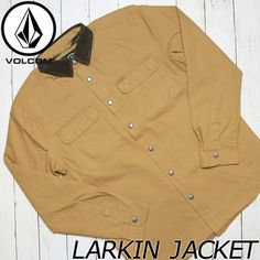 VOLCOM ボルコム LARKIN JACKET コットンツイルジャケット A1631701 | BRAND,VOLCOM | LUG Lowrs