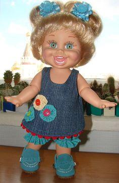 Мой маленький мир кукол / Куклы Galoob Baby Face dolls / Бэйбики. Куклы фото. Одежда для кукол