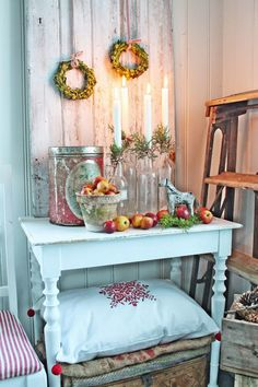 VIBEKE DESIGN: Gjenbruks adventlysestake