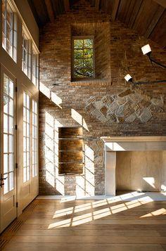 dream house or salon..inside a redone stone barn - stunning