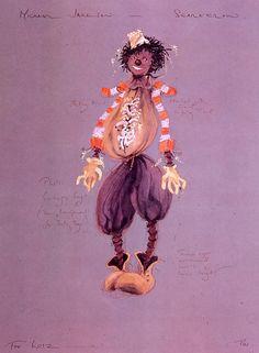 """Scarecrow.   """"The Wiz"""""""