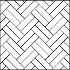 Double Herringbone - 45 degree