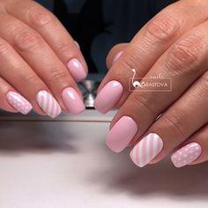Идеи дизайна ногтей - фото,видео,уроки,маникюр! Mani Pedi, Nail Arts, Fun Nails, Nail Designs, Makeup, Beauty, Ideas, Pedicures, Decorations