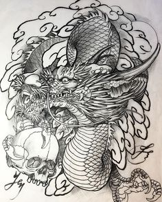 Original dragon drawing of a new sleeve design by @jessyentattoo for upcoming Sunday outline. Thank you very much for the support, I will do my best🙏🏻 #jessyen #horiyen #mytattoo #bodyart #tattoosketch #tattoodesign #dragontattoo #dragon #drawing #irezumi #oriental #originalart #sketch #彫顏 #刺青 #紋身 #入墨 #龍 #竜 @jessyendotcom @mytattooandpiercing