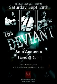 Great acoustic solo by The Deviant