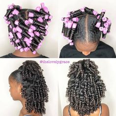 I will repost the next 5 people transitioning doing a permrod set . Lil Girl Hairstyles, Black Kids Hairstyles, Natural Hairstyles For Kids, Kids Braided Hairstyles, My Hairstyle, Toddler Hairstyles, Hairstyles Pictures, Cabello Afro Natural, Curly Hair Styles