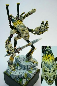 Custom Painted Wraithlord