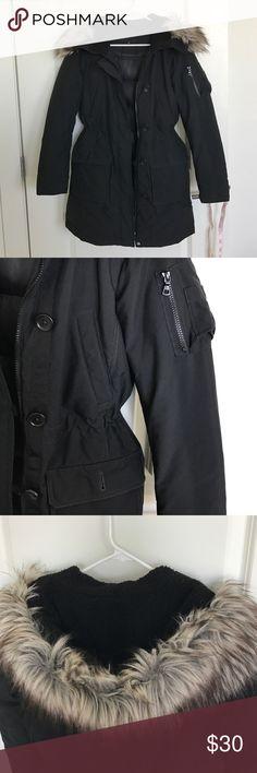 Uniqlo down military jacket