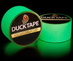 YES! Glow-in-the-Dark Duct Tape. Perfect for broomball at MTU, eh?