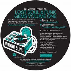 Nik Weston Presents Lost Funk & Soul Gems Volume One / Mukatsuku Records