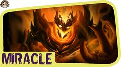 Dota 2- Miracle Shadow fiend - EPIC COMBO WITH MAGNUS