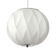 Set the mood in your favorite in-house hangout with stylish light. With its modern take on a chic, mid-century design, this Cammie Cocoon Pendant will bring just the right amount of retro flavor to any...  Find the Cammie Cocoon Pendant, as seen in the Mid-Century Luxe Collection at http://dotandbo.com/collections/mid-century-luxe?utm_source=pinterest&utm_medium=organic&db_sku=121424