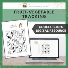 This digitally interactive resource is designed for use with Google Slides. This resource contains 10 slides in total. Answer sheets are included.The student must find all of the fruit/vegetables that look the same as the example at the top of the page, and drag the orange circles to mark the correct answers.