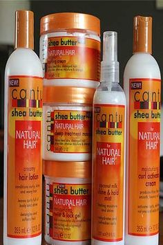 Cantu hair products, i love them all, if you want beautiful growing hair and healthy hair i would recommend this to everyone