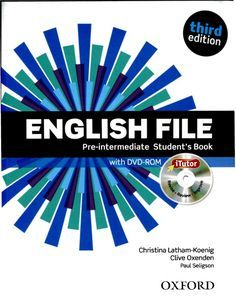 English file 3rd edition pre intermadiate students book