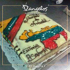 Una torta un motivo. Tu la pides y D'angelos la crea para ti.  #pasteles #Guayana  #PZO #SencillamenteDelicioso #catering  #gastronomia  #gourmet #Venezuela  #bandera #tricolor #libro #book #cakes