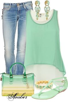 Cute green