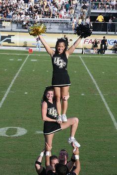 UCF Cheerleading 2007- Lauren and I!