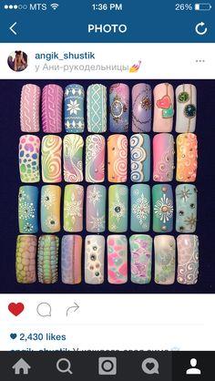 Pin by Amanda Young on Nails Beautiful Nail Designs, Beautiful Nail Art, Gorgeous Nails, Pretty Nails, Nail Art Blog, Gel Nail Art, Nail Polish, Nail Nail, Acrylic Nails