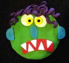 Go Away Big Green Monster  Flannel Board Story by flirtyflannels66, $22.00