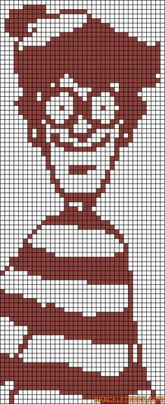 Wally Waldo perler bead pattern