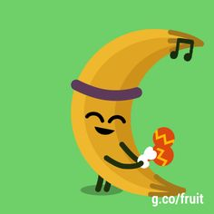 Google banana google doodle fruit games Google Gif, Art Google, Google Doodles, Gifs, Veggie Art, Image Fun, Pebble Painting, Moving Pictures, Softies