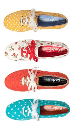 I loved my Keds as a kid and I would love to have another pair now. Fun Keds