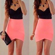 Wholesale Sexy Sweetheart Neck Sleeveless Color Block Asymmetrical Women's Dress Only $8.04 Drop Shipping   TrendsGal.com