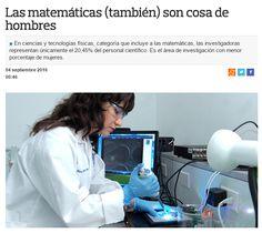 Las matemáticas (también) son cosa de hombres / @lamarea_com | #readyforscience…