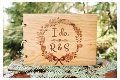 """""""I do"""" Custom Wedding Guest Book"""
