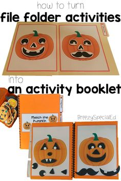 How To Produce Elementary School Much More Enjoyment Turn File Folder Activities Into Interactive Activity Booklets It's Easy And Works With A Personal Sized Laminator Special Education Activities, Special Education Classroom, Interactive Activities, Educational Activities, Kids Education, Teaching Posts, Teaching Ideas, Resource Room Teacher, Teacher Stuff