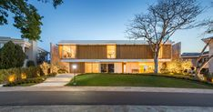 Casa Jardim do Sol By Hype Studio Photography by Marcelo Donadussi Hype Studio have designed a new modern family house in the neighborhood of Porto Alegre Brazil nbsp hellip New Modern Family, Home And Family, Villa, Beach House, The Neighbourhood, Contemporary, Mansions, Studio, House Styles