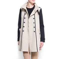 MANGO Trench Coat