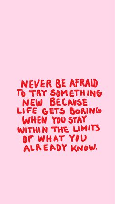 Never be afraid... @milouvollebregt