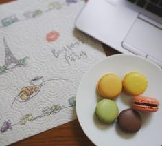 Benefits of home office. Afternoon treat of macarons. Powering through work now! #sugarhigh #indulge #pickmeup #macarons #frenchfood #workingfromhome #perksofthejob #yum #foodie #foodphotography #100happydays 91