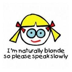 Why am i blonde