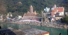 The Ganga at Rishikesh