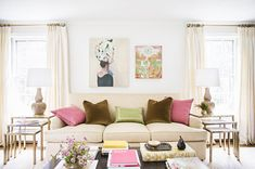 Infuse color: http://www.stylemepretty.com/living/2014/04/01/10-ways-to-springify-your-home/