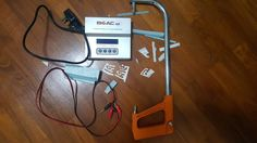 Fly Aeroplane: Supplying power to Hot Wire Foam Cutter using a battery charger; Micro receivers and ESC