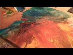 Video|Julie Bernstein Engelmann - Abstract Painting Spirit