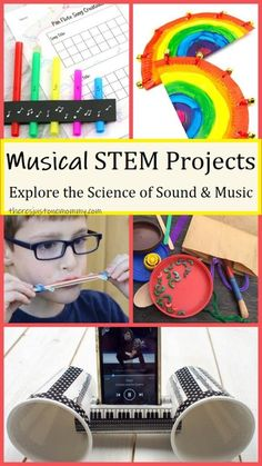 Musical STEAM Activities for Kids
