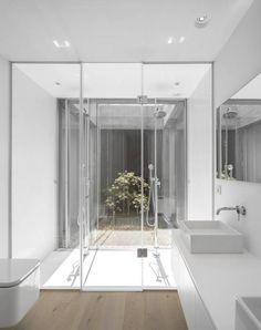Casas de banho Moderno por spaceworkers®