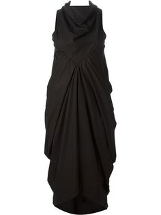 Comprar Rick Owens vestido midi drapeado en Doshaburi from the world's best independent boutiques at farfetch.com. Over 1500 brands from 300 boutiques in one website.