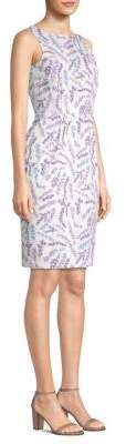 Max Mara Melfi Floral Sheath Dress