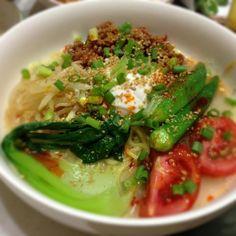 久しぶりの投稿です(´・Д・)」 お野菜多めにトッピングしました - 15件のもぐもぐ - 冷やし担々麺(´・Д・)」 by Toshi0117