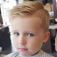 Side Part Haircut I also like the little gentleman haircut of the little boy with the sucker Cool Kids Haircuts, Cute Toddler Boy Haircuts, Boy Haircuts Short, Little Boy Hairstyles, Baby Boy Haircuts, Haircuts For Toddlers, Toddler Boy Hairstyles, Haircuts For Little Boys, Easy Hairstyles