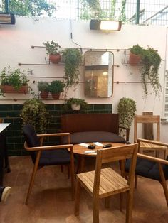 Grandpa Coffee&Eatery | Bebek/Istanbul designed by Zemberek Design #interiordesign #interior #cafedesign #coffee #bakery #bakerydesign #gardendesign #plants
