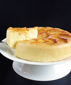 Make Upside Down Apple Cake in a rice cooker.